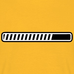 progress bar T-Shirts - Men's T-Shirt