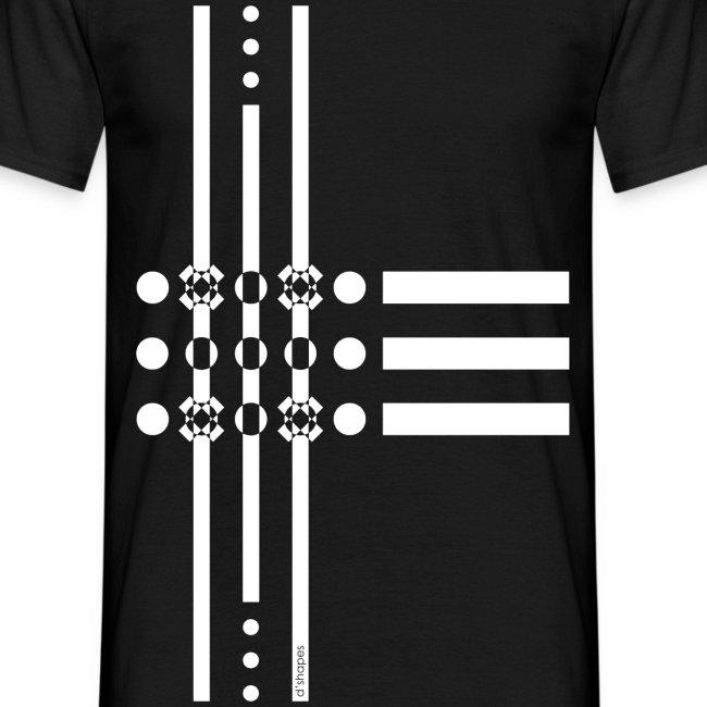 Dots White - Man T-shirt