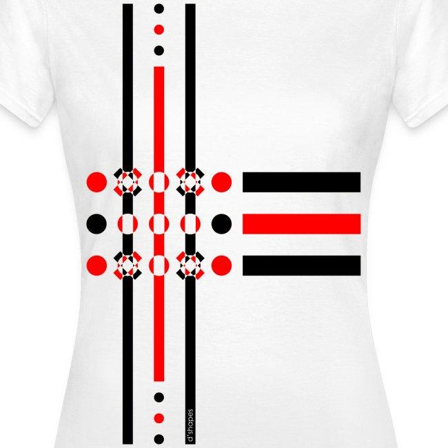 Dots Red - Woman T-shirt