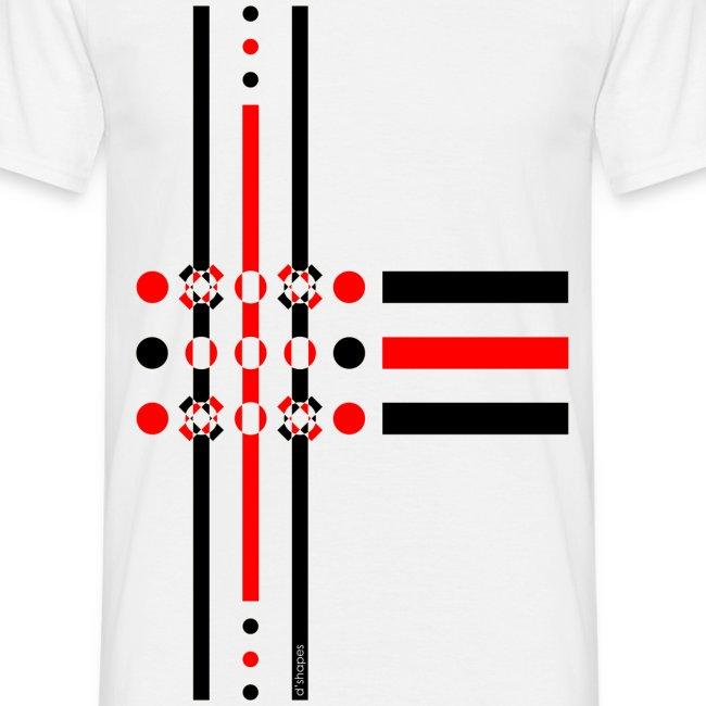 Dots Red - Man T-shirt