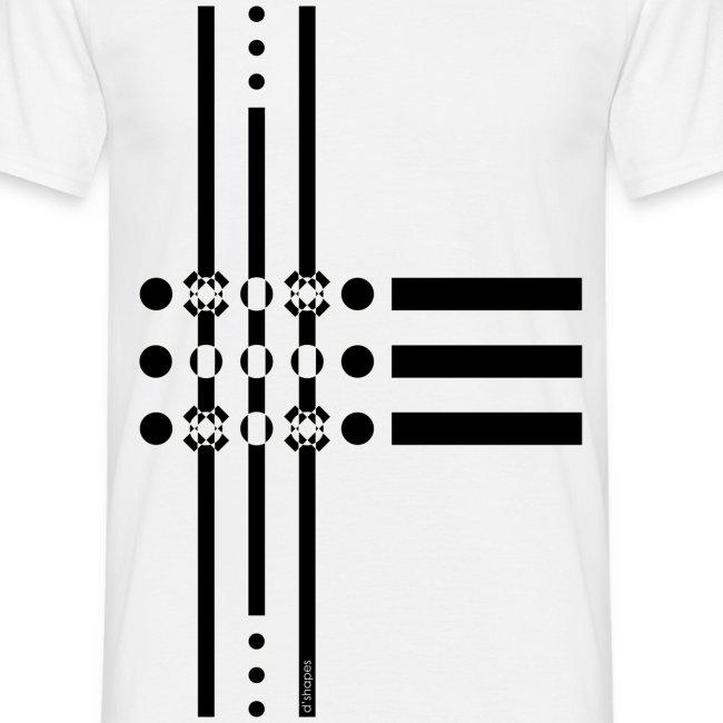 Dots Black - Man T-shirt