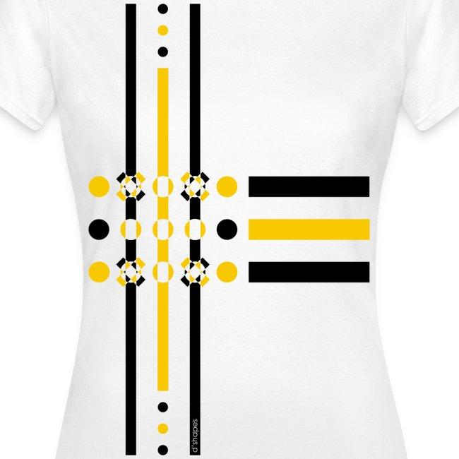 Dots Yellow - Woman T-shirt