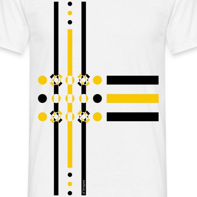 Dots Yellow - Man T-shirt
