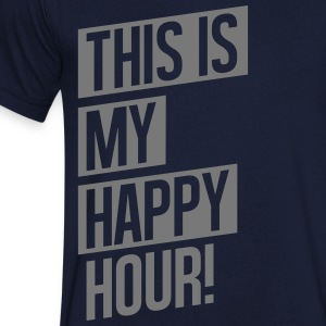 THIS IS MY HAPPY HOUR T-Shirts - Men's V-Neck T-Shirt