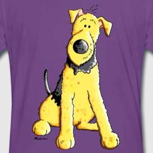Funny Airedale Terrier T-Shirts - Männer Premium T-Shirt