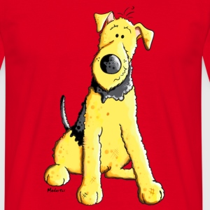 Funny Airedale Terrier T-Shirts - Männer T-Shirt