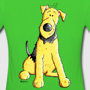 Funny Airedale Terrier T-Shirts - Frauen Bio-T-Shirt