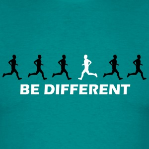 be different laufen T-Shirts - Männer T-Shirt