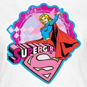 Supergirl Pattern - Dame-T-shirt