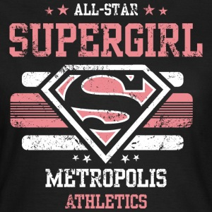 Supergirl Dame T-Shirt All Star - Dame-T-shirt