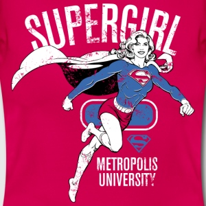 Supergirl Metropolis University - Frauen T-Shirt