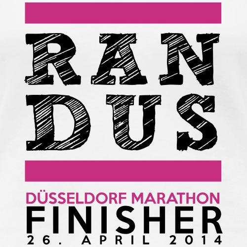 Düsseldorf Marathon Finisher Shirt