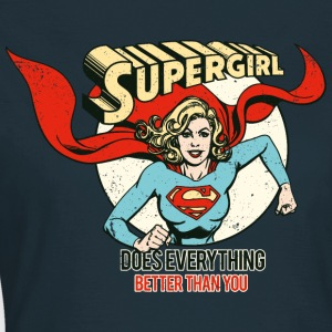 Supergirl Dame T-Shirt Does Everything - Dame-T-shirt