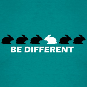 be different hase T-Shirts - Männer T-Shirt
