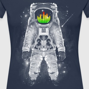 Navy Astonaut T-Shirts - Frauen Premium T-Shirt
