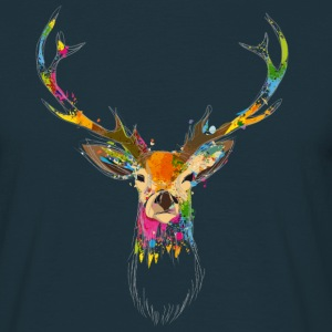 Watercolor deer T-Shirts - Men's T-Shirt