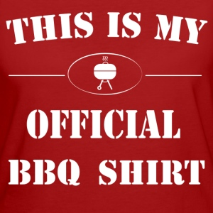 Official BBQ Shirt T-Shirts - Frauen Bio-T-Shirt