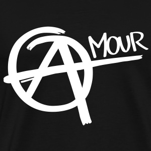Anarchy - Amour T-shirts - Premium-T-shirt herr