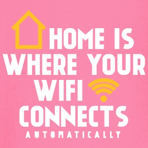 Home is where your wifi connects automatically Langarmshirts - Baby Langarmshirt