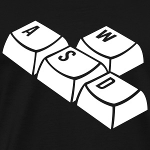 keyboard T-Shirts - Men's Premium T-Shirt
