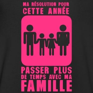 resolution annee plus temps famille Tee shirts - T-shirt Homme col V