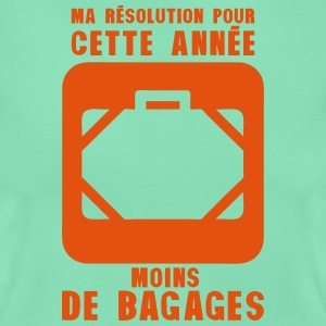 resolution annee moins bagages valise 2 Tee shirts - T-shirt Femme