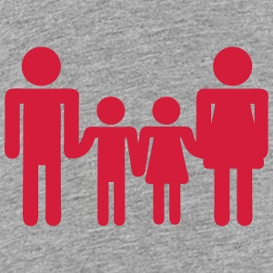 Family child parent icon 200315 Shirts - Kids' Premium T-Shirt