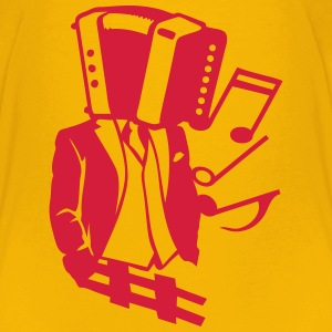 Character accordion costume tie head Shirts - Kids' Premium T-Shirt