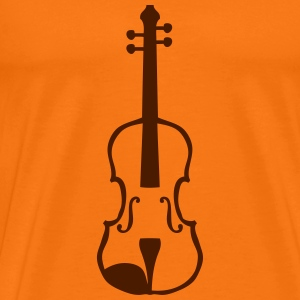 Violin instrument music 1903152 T-Shirts - Men's Premium T-Shirt