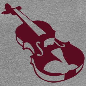 Violin instrument music 190315 T-Shirts - Women's Premium T-Shirt