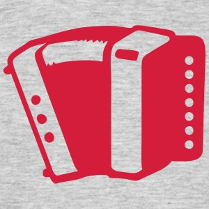 Accordion music instrument 190315 T-Shirts - Men's T-Shirt