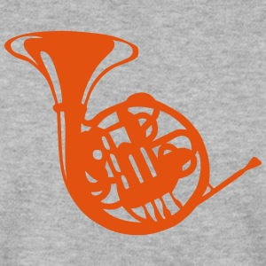 Music instrument horn 190315 Hoodies & Sweatshirts - Men's Sweatshirt