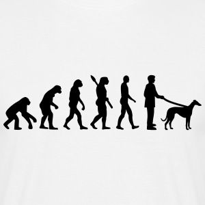 Evolution Windhund T-Shirts - Männer T-Shirt