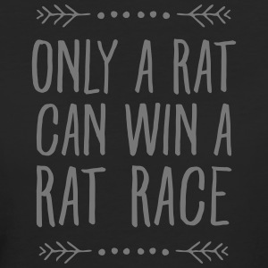 Only A Rat Can Win A Rat Race T-shirts - Organic damer