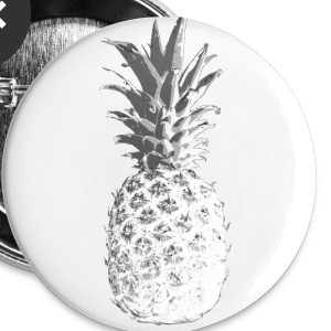 ananas Buttons & badges - Buttons/Badges mellemstor, 32 mm