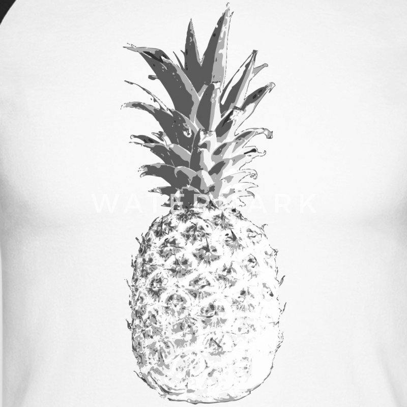 pineapple Long sleeve shirts - Men's Long Sleeve Baseball T-Shirt