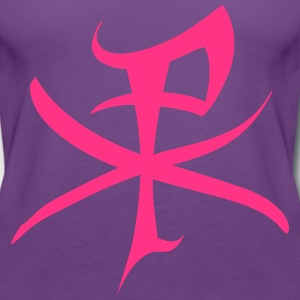 christus monogramm Tops - Frauen Premium Tank Top