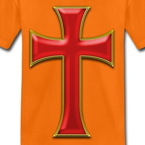 cross GOLD Shirts - Kids' Premium T-Shirt