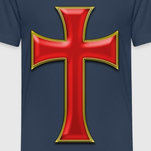 cross GOLD Shirts - Teenage Premium T-Shirt