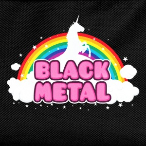 BLACK METAL - Funny / Unicorn - Rainbow - parodie Bags & Backpacks - Kids' Backpack