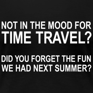 Time Travel 3 T-Shirts - Women's Premium T-Shirt