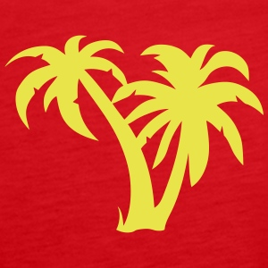 Palm trees 1803152 Tops - Women's Premium Tank Top