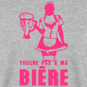 touche pas a ma biere fille sexy 18 Sweat-shirts - Sweat-shirt Homme