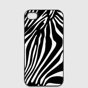 Zebra streifen hülle Handy & Tablet Hüllen - iPhone 4/4s Hard Case