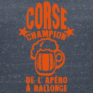 corse champion apero rallonge biere Tee shirts - T-shirt col V Femme