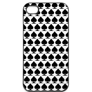 Spades poker case - iPhone 4/4s Hard Case