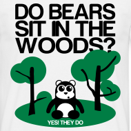 Design ~ Do bears sit in the woods?