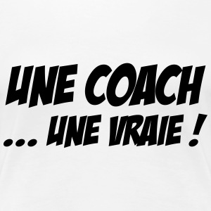 Coach / Trainer / Sport / Coaching / Zug / Manager T-Shirts - Frauen Premium T-Shirt