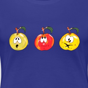 3-pommes-oups-2 Tee shirts - T-shirt Premium Femme