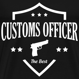 Customs Officer / Police / Douanier / Zollbeamter T-Shirts - Men's Premium T-Shirt
